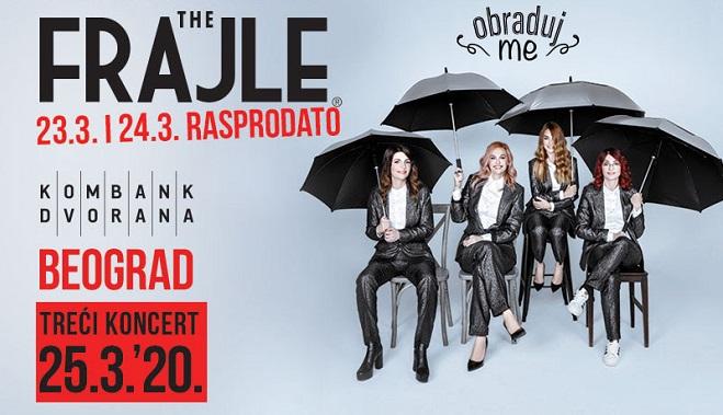 The Frajle - treći koncert