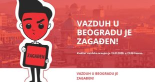 Vlada Srbije: Rešavanje problema zagađenja vazduha