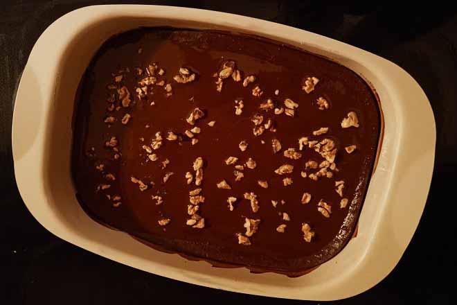 Čokoladni kolač sa orasima (foto: Nenad Mandić © danubeogradu.rs)