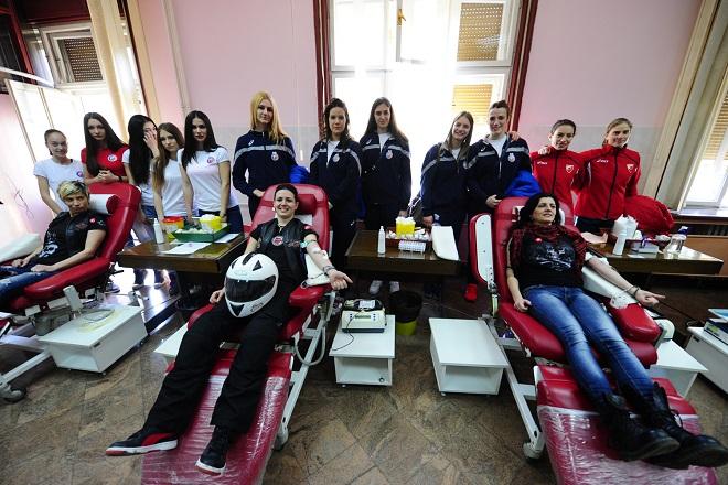 Institut za transfuziju krvi Srbije - akcije (fotografiju obezbedio ITKS)