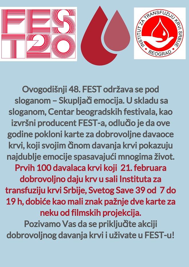 ITKS i FEST 2020 - akcija