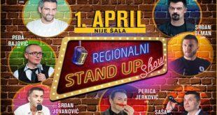 Kombank dvorana: Drugi Regionalni stand up show - Prvi april, nije šala