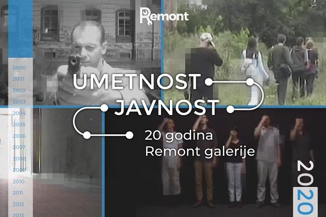 Remont galerija (2000-2020): Umetnost i javnost
