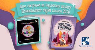 Dva nagrade Novosadskog sajma za izdanja Kreativnog centra