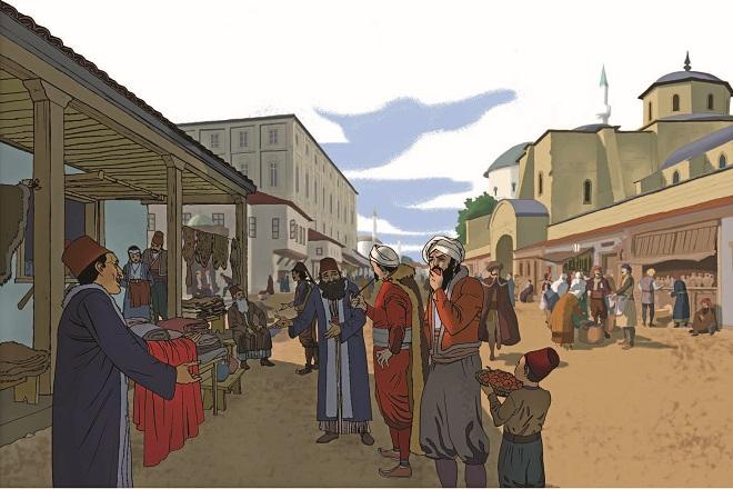 Kreativni centar: Čedomila Marinković - Jevreji u Beogradu (1521-1942) (ilustracija: Siniša Banović)