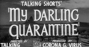 Moja draga karantina - onlajn festival kratkog filma