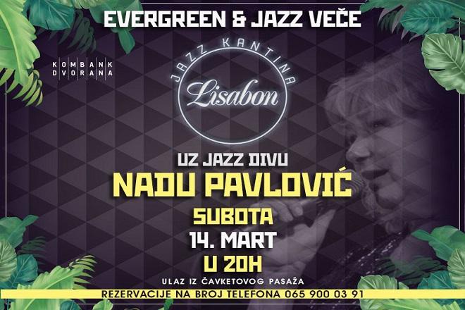Nada Pavlović u Jazz kantini Lisabon: Evergreen i jazz veče