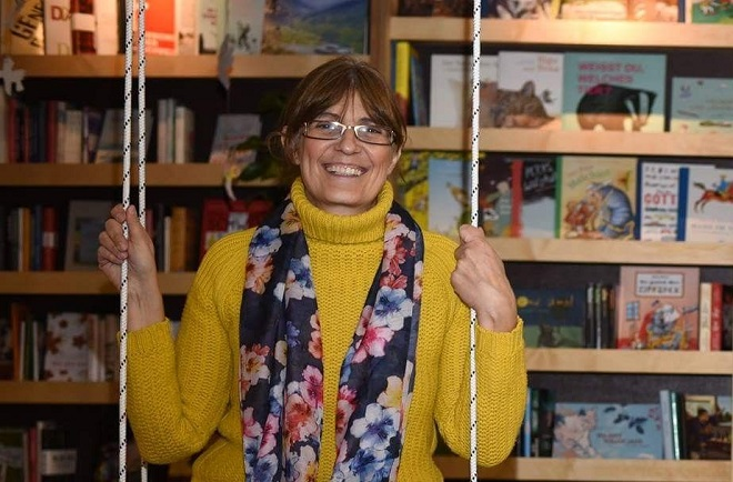 Jasminka Petrović - kreativno u doba virusa korona (foto: Sanja Latinović)