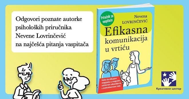 Kreativni centar: Nevena Lovrinčević - Efikasna komunikacija u vrtiću