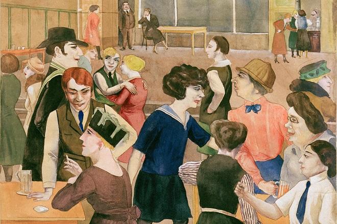 """Rudolf Šlihter, """"Kafana za dame"""" oko 1925. godine, privatna zbirka © Viola Roehr v. Alvensleben, München. akg-images"""