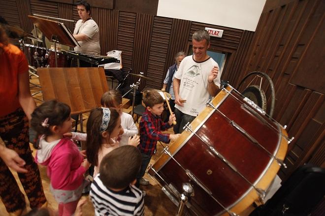 Beogradska filharmonija: Prva online otvorena proba za decu (foto: Marko Đoković)