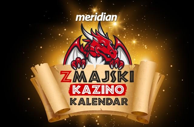Meridianbet: Zmajski dobar kazino kalendar