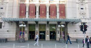 Narodno pozorište u Beogradu (foto: Aleksandra Prhal)