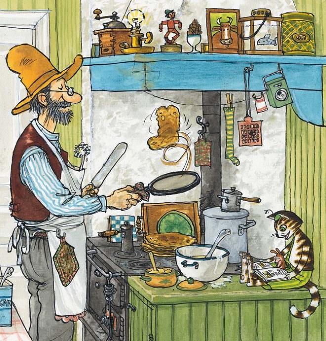 Poznajete li Petsona i Findusa? (ilustracija iz knjige)