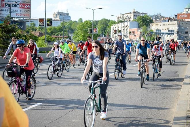 Ulice za bicikliste - Kritična masa