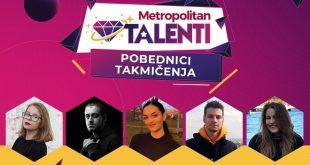 Pobednici takmičenja MET Talenti 2020. - budući stipendisti Univerziteta Metropolitan