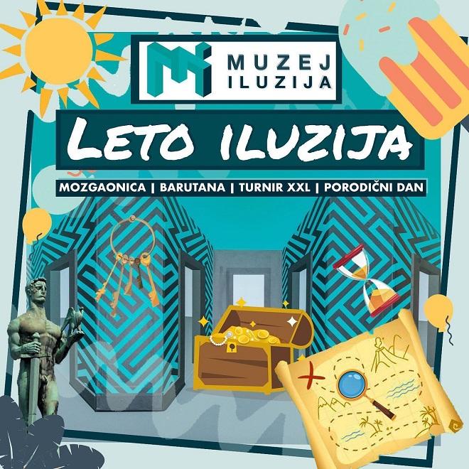 Muzej iluzija: Leto iluzija 2020