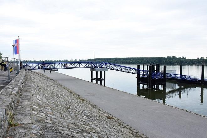 Međunarodno pristanište za putničke brodove u Zemunu (foto: GO Zemun)