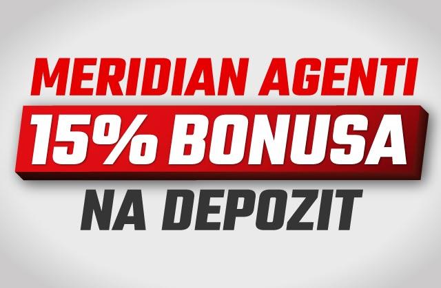 Meridian: Sve završi u kući - dopuni nalog iz svoje sobe i čeka te 15% bonusa