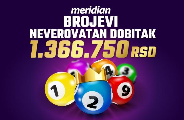 Meridian: Laganih milion i trista hiljada dinara nikad nije bilo bliže