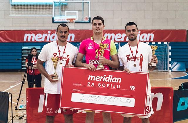 Meridian i košarkaši prikupili dva miliona za lečenje Sofije Markuljević