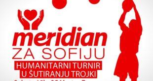 Veliki turnir u šutiranju trojki u organizaciji kladionice Meridian za Sofiju Markuljević