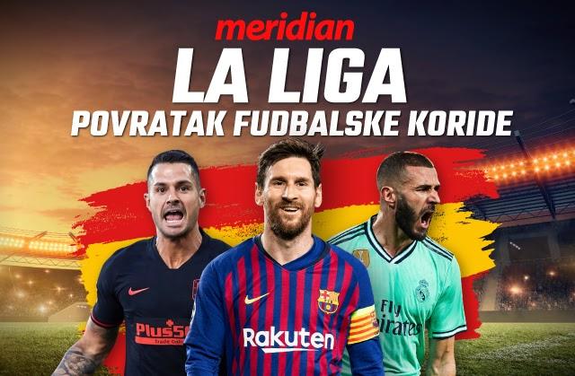 Meridianbet: Nastavak fudbalskog prvenstva u Španiji donosi ti 500 dinara na poklon