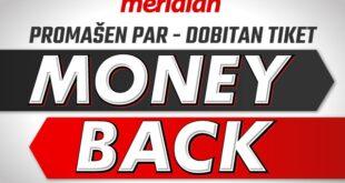 Meridianbet: Naplati tiket čak i kada promašiš jedan par