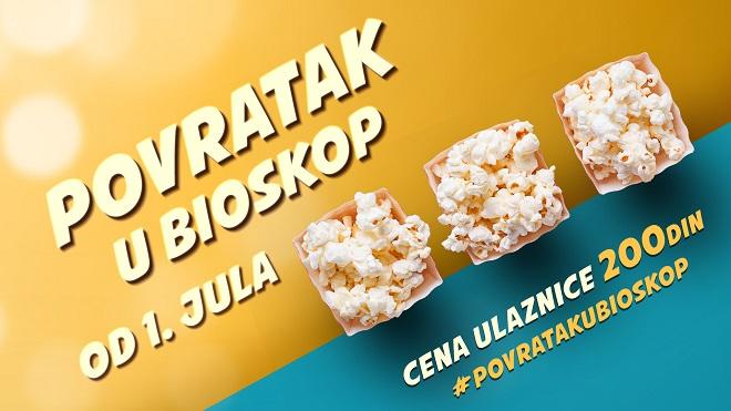 Povratak u bioskop: Bioskopi u Srbiji biće otvoreni od 1. jula 2020!