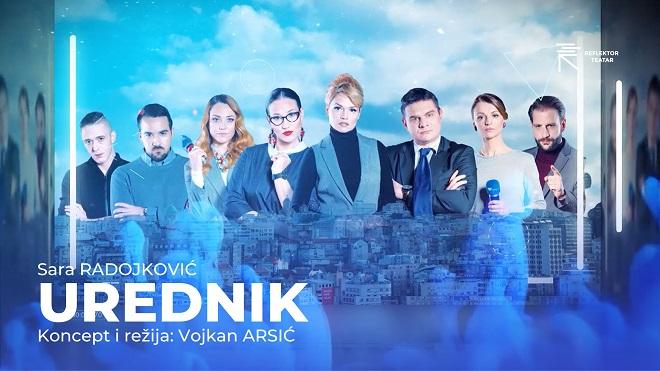 "Reflektor teatar: Najnovija predstava ""Urednik"" otvara julski repertoar"