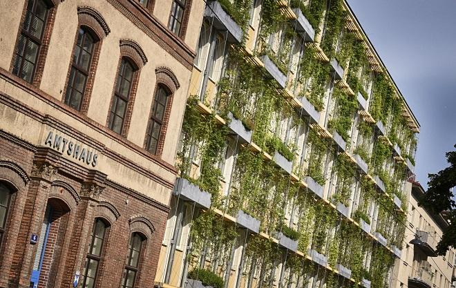 Beč: Zelene fasade u borbi protiv letnje vrućine (foto: ©Wiener Wasser/Zinner)