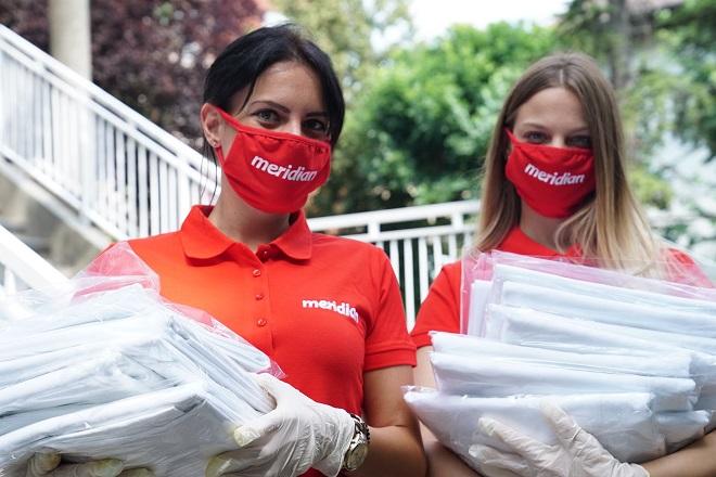 Još jedna sedmica puna humanosti - Meridian u velikoj akciji podrške našim zdravstvenim radnicima