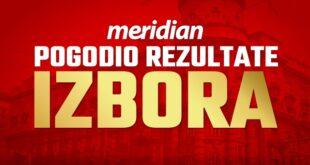 Bolje od svih agencija - Meridian najpreciznije predvideo rezultate izbora 21. juna