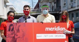 """Kompanija Meridianbet uručila donaciju bolnici """"Sveti Luka"""" u Smederevu"""