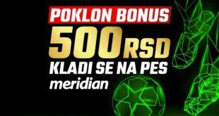 Vrhunski fudbal non stop: PES i 500 dinara na poklon bez ikakvih uslova