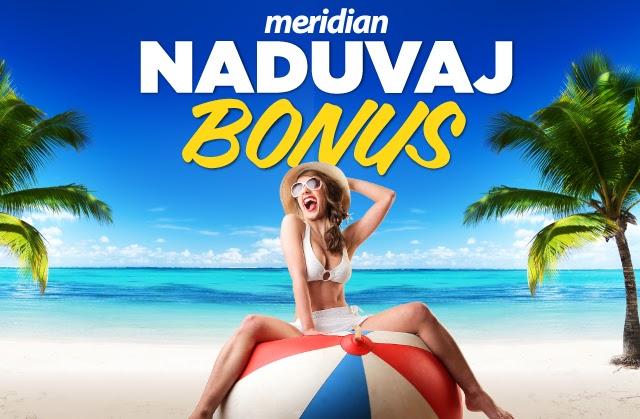 Meridianbet - naduvaj bonus