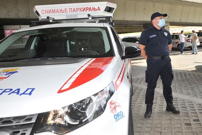 """""""Oko sokolovo"""" i kazne za nepropisno parkiranje u Beogradu (foto: beograd.rs)"""