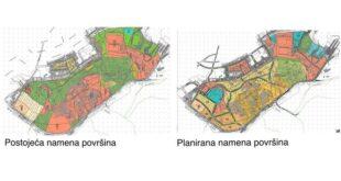 """Planirana namena površina Elaboratom za rani javni uvid povodom izrade plana detaljne regulacije za kompleks """"Avala filma"""" GO Čukarica"""