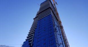 Vikend u Beogradu, 4. i 5. jul 2020: gradi se buduća najviša zgrada u Beogradu (foto: Nemanja Nikolić)