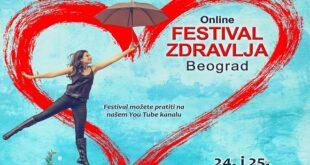 21. Festival zdravlja Beograd u online formatu: Napravi korak ka zdravlju (detalj sa plakata)