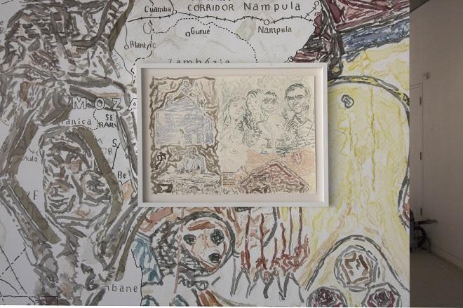 Galerija Remont: Mark Brogan - Between Worlds Installation