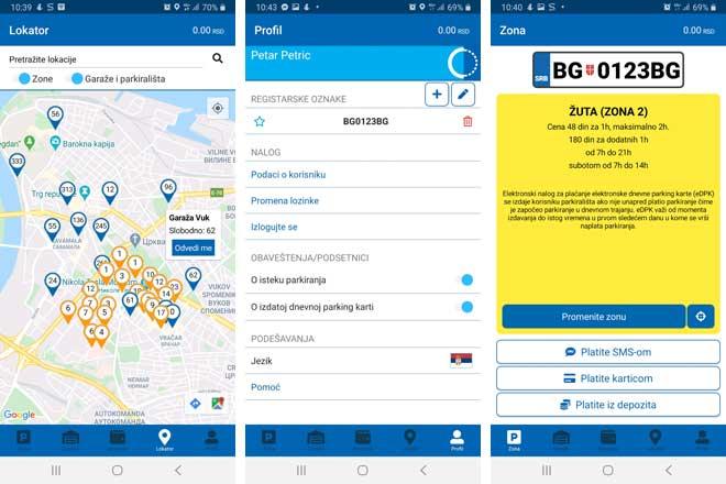 "JKP ""Parking servis"": Nova aplikacija za plaćanje parkiranja i navođenje do najbližeg parking mesta"