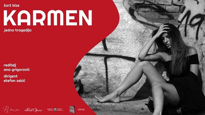 Rossi fest: Operska premijera - Karmen, jedna tragedija