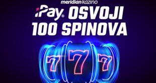 Meridianbet i iPay servis ti poklanjaju čak 100 besplatnih spinova!
