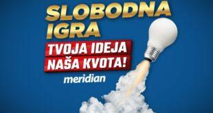 Meridianbet ima neviđenu ponudu - Slobodna igra za sve slobodne srelce!