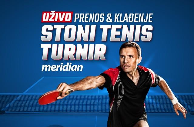 Meridianbet Cup - Stoni tenis turnir