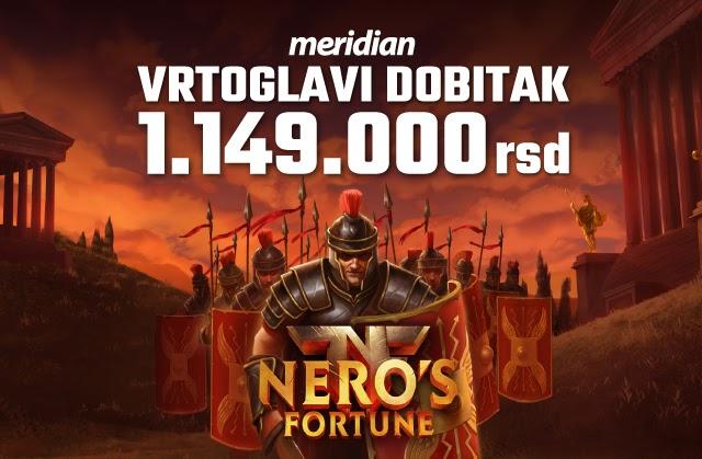 Neverovatan dobitak: Još jedan igrač uspeo da se obogati u Meridian online kazinu