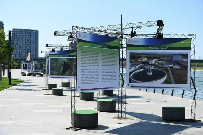 "Izložba ""Najlepša Srbija!"" na Sava promenadi (foto: ekologija.gov.rs)"