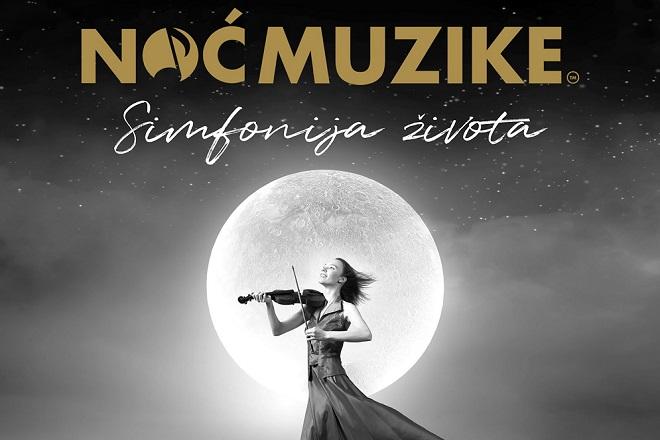 Noć muzike: Uživo, ali online za publiku! (ilustracija: detalj sa plakata)