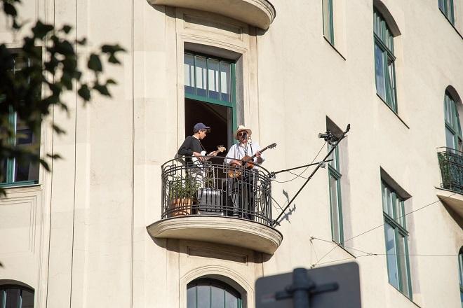 Bečki balkon (foto: koncert na balkonu © René Brunhölzl)